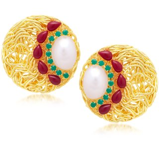 Sukkhi Traditionally Gold Plated Earring For Women