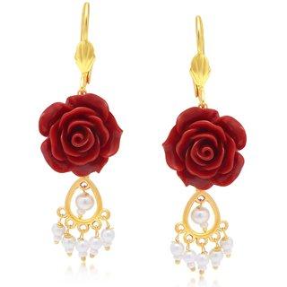 Sukkhi Sleek Gold Plated Earring For Women