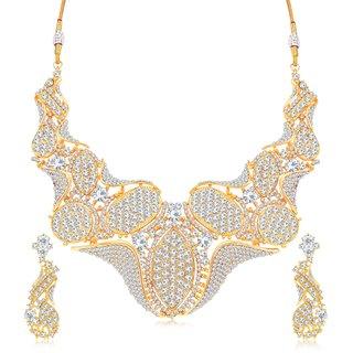 Sukkhi Ravishing Gold Plated Necklace Set For Women