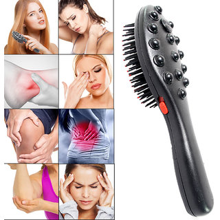 2in1 Magnetic Blood Pressure Controller Blood Circulation Hair grow Hair Comb Head Neck Full Body Pain Relief Massager
