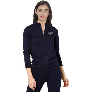 aarmy fit navy ladies jacket