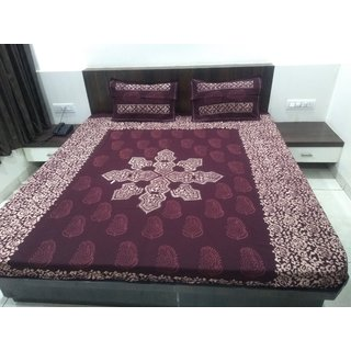 Batik Cotton Bed Sheets
