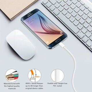 Samsung Galaxy J7 Prime Compatible Micro USB Cable / Sync Cable / Data  Cable / Chraging Cable With 1 Month WARRANTY