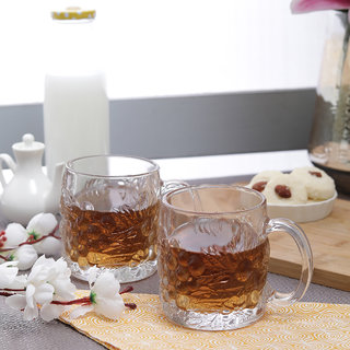 Diamond Qianli Mellow Beer Mugs 400 ml - Set of 2