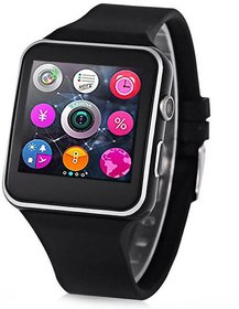 X6 Square Touch Screen Bluetooth Mobile Phone Wrist Watch With Camera/Sim