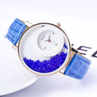 Bollywood Designer Mxre Blue Womens Watches Ladies Watches Girls watches By Dream Vision