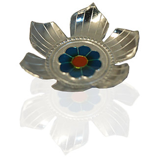 Silverz Silver Pooja Plate