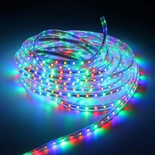 30 Metre Multi Colour Waterproof 220v Rgb Led Strip Light 5050 Smd Flexible Tape Rope Party Garden
