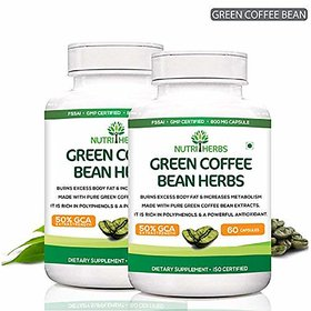 Nutriherbs Pure Green Coffee Bean Extract 50% GCA 800MG