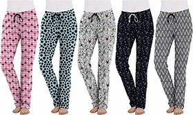 CH Fashions Ladies Soft Cotton Pyjama For Womens (Pack of 2)