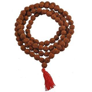 108 Rudraksha Jaap/Kantha Mala (5-6 mm)
