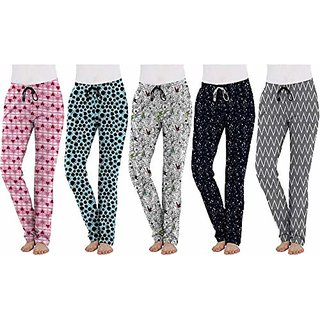 ch fashion Ladies Soft cotton Pyjama Bottoms for Womens and girls pack of 2
