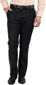 Gwalior Black Slim Fit Formal Trouser