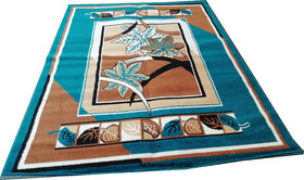 AS Handloom Modern Pattern Geometric carpet5/7(actual size is 150/200 cms) for bed room,living room and Drawing room