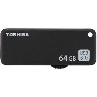 Toshiba Yamabiko 64 GB Pen Drive  (Black)