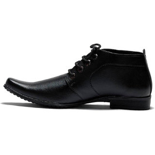 738a97e3572df 00RA ANKLE LENGTH BLACK COLOR OFFICE WEAR FORMAL SHOES FOR MEN LONG MEN'S  BOOTS