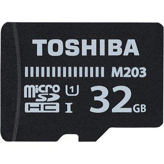 Toshiba M203 32 GB MicroSD Card Class 10 100 MB/s Memory Card