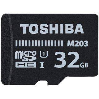 Toshiba M203 32  GB MicroSDHC Card Class 10 100 MB/s Memory Card