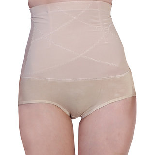 Firm Control High Waist Cream Tummy Shaper