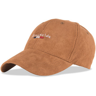 DRUNKEN Mens Acrylic Baseball Cap Brown Freesize