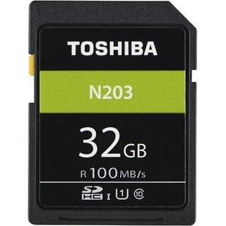Toshiba N203 32  GB SDHC Class 10 100 MB/s Memory Card Camera Cards