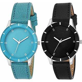 Swadesi Stuff Stylish Multi Color Watch for Girl  Women (cutglass 222)
