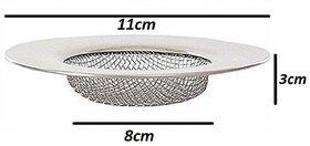 Evershine Stainless Steel Sink Strainer, Wash Basin Jali, Kitchenware- 1 Pcs- size- 11cm (No 03)
