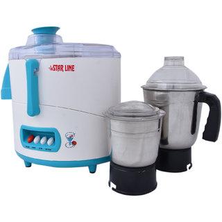 STAR LINE 550 Watt Juicer mixer grinder