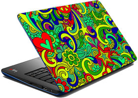 MeSleep Multi Colored Paisley Laptop Skin