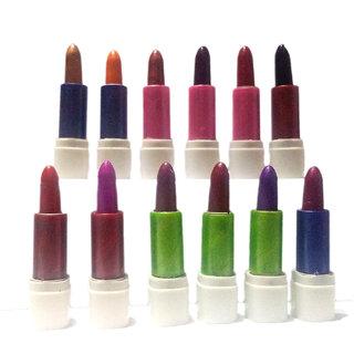 Combo Imac Beauty Lipstick Mini Lip Stick 12pc Lipstick Shades