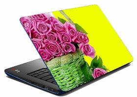 MeSleep Pink Rose Laptop Skin