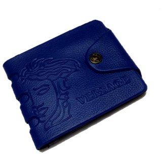 Versage Stylish Blue Men's Wallet (Synthetic leather/Rexine)