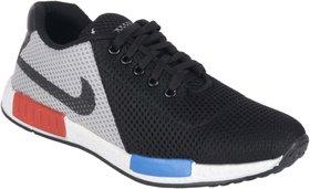 Running rider Black Net Men's Sports Shoes
