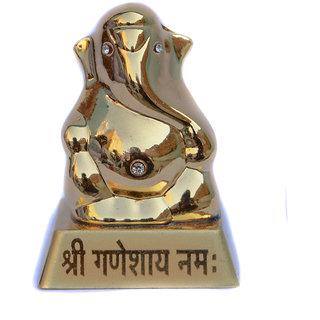 Spidy Moto God Idol Car Decor Small Shree Ganesh for Car Dashboard