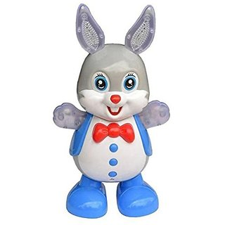 Dancing Rabbit with Music, Flashing Lights, Dancing Toys for Kids,Battery Operated, Multi Color