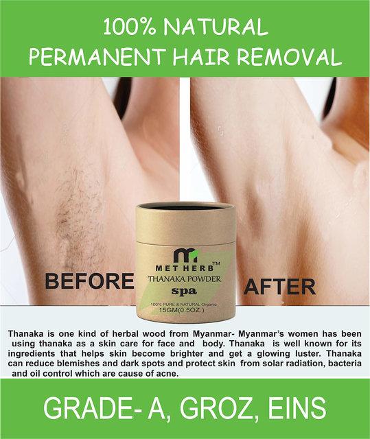 15g PURE THANAKA TANAKA Powder Natural Anti Acne Aging Whitening Hair  Removal