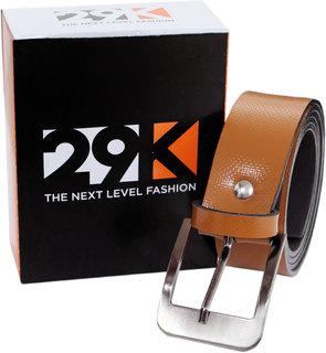 29K Tan Texture Belt