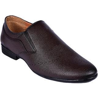 BB LAA Brown Men's Slip-on Formal Shoes