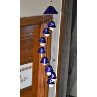 Yourcull Ceramic Handcrafted Wind chime 08 bell