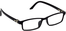 HRINKAR Unisex Multicolor Rectangular Full Rim Small Eyeglasses