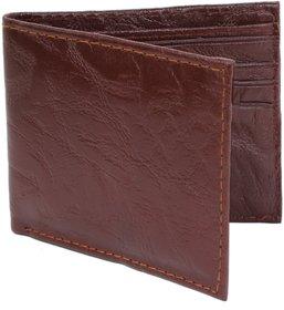 29K Walnut Brown Single fold Wallet For Men