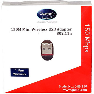QUANTUM USB WIFI 150MBPS ADAPTER Wireless Adapters
