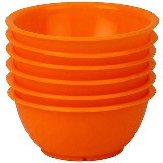 Yourcull 6 piece souppudding vegetable Plastic Bowl Set