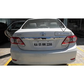 Logo TOYOTA COROLLA ALTIS AS MARKED IN PHOTO Car Monogram Emblem Chrome LOGO