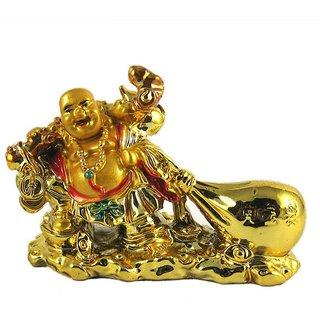 Only 4 You Feng Shui Laughing Buddha Drag The Money Potli