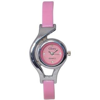 Pink Analog Designer Watch
