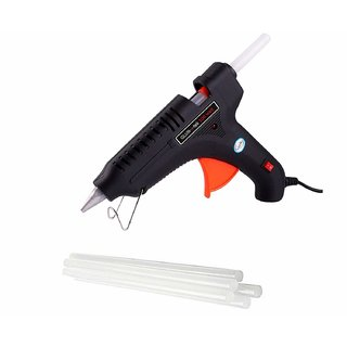 Electric Hot Melt Glue Gun 40 Watt OZ- 2 GlueSticks Free