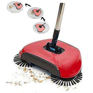 Automatic Push 360 Rotating Sweeper Broom Sweeper Mop - (Premium)