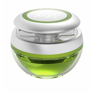 Imported Airpro Luxury Sphere Gel Air  Car Freshener - Lush Retreat Fragrance - 40 Gm