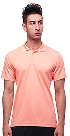 Last Stand Orange Casual Polo t-Shirt for Men
